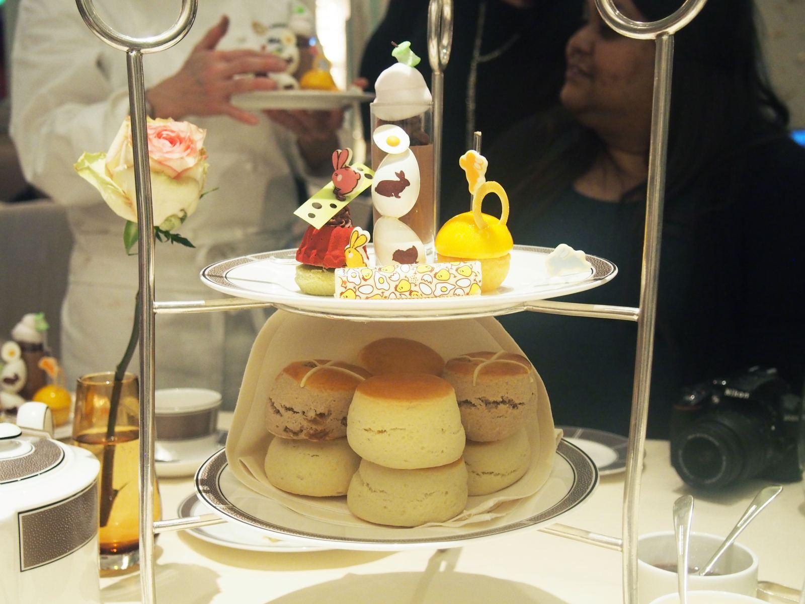 Easter Afternoon Tea At Langham Hotel