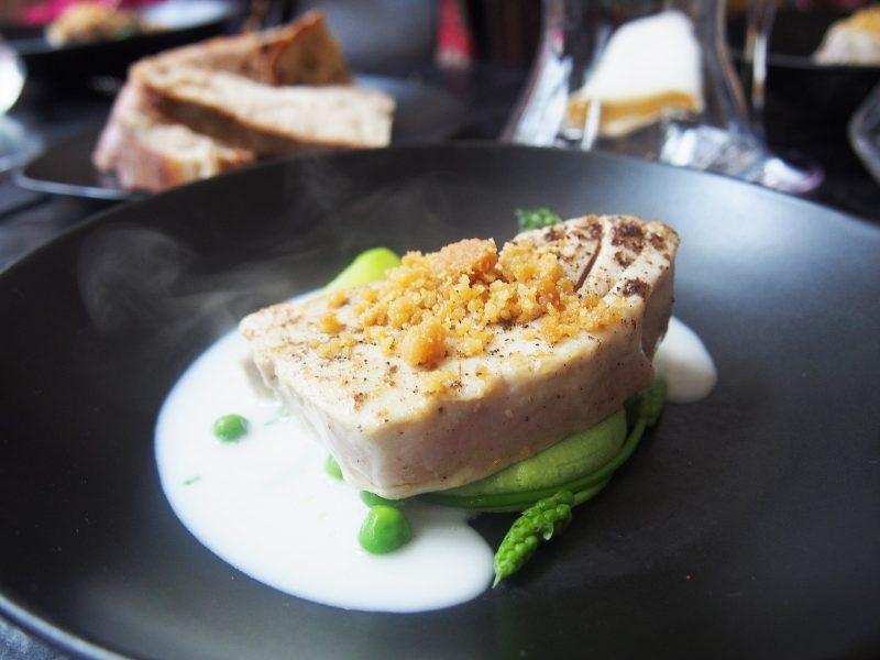 Seared Tuna Paris