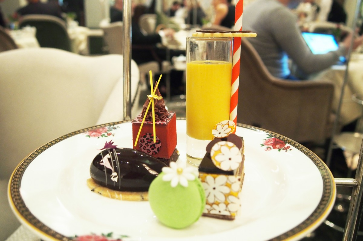Chocolate Afternoon Tea - Langham Hotel - Cherish Finden