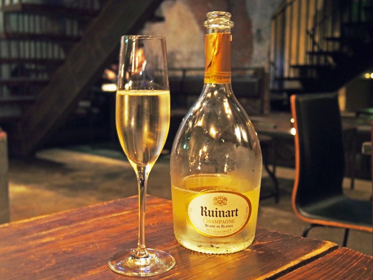 champagne ruinart tour
