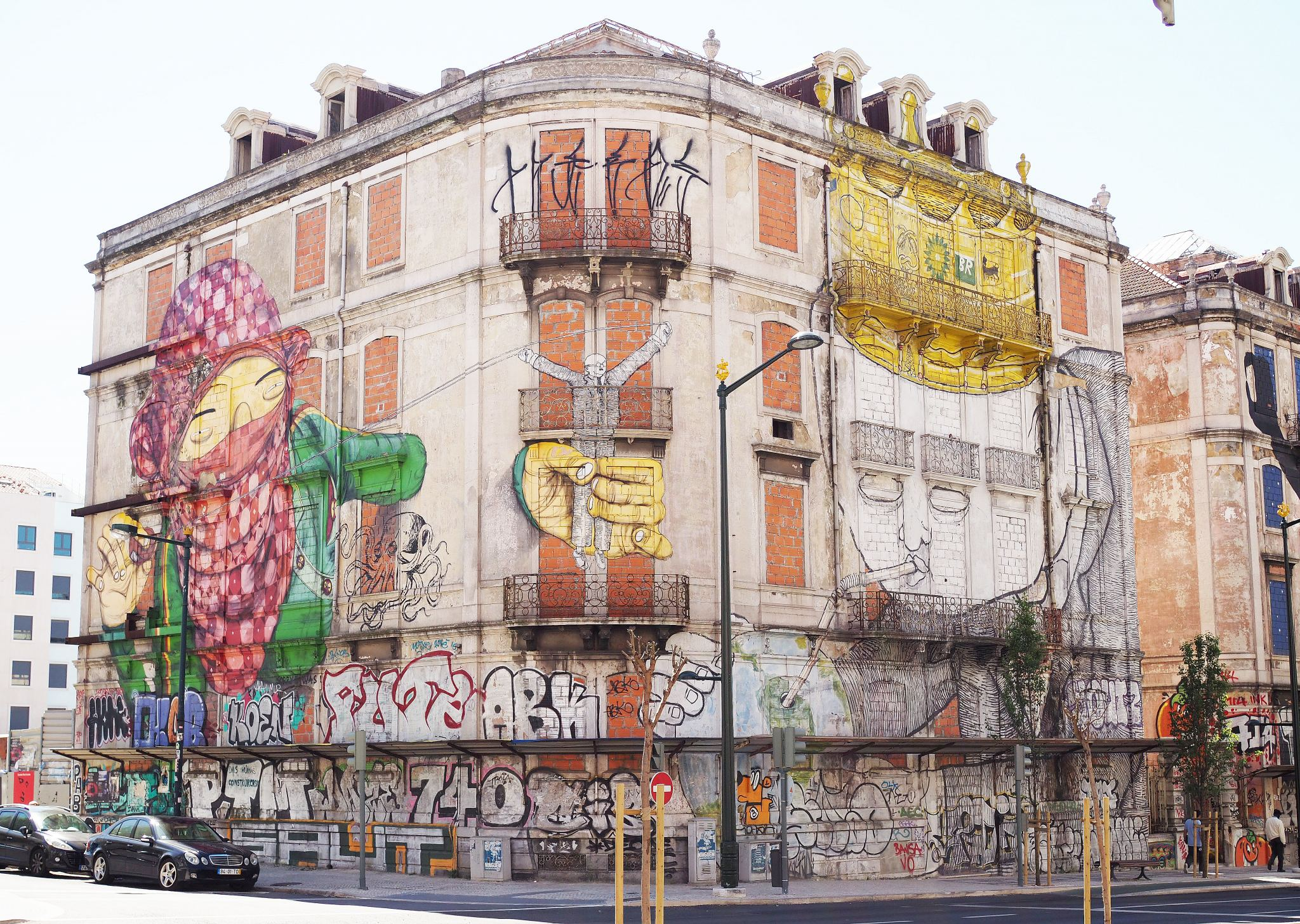 Grafitti Street Art, Lisbon