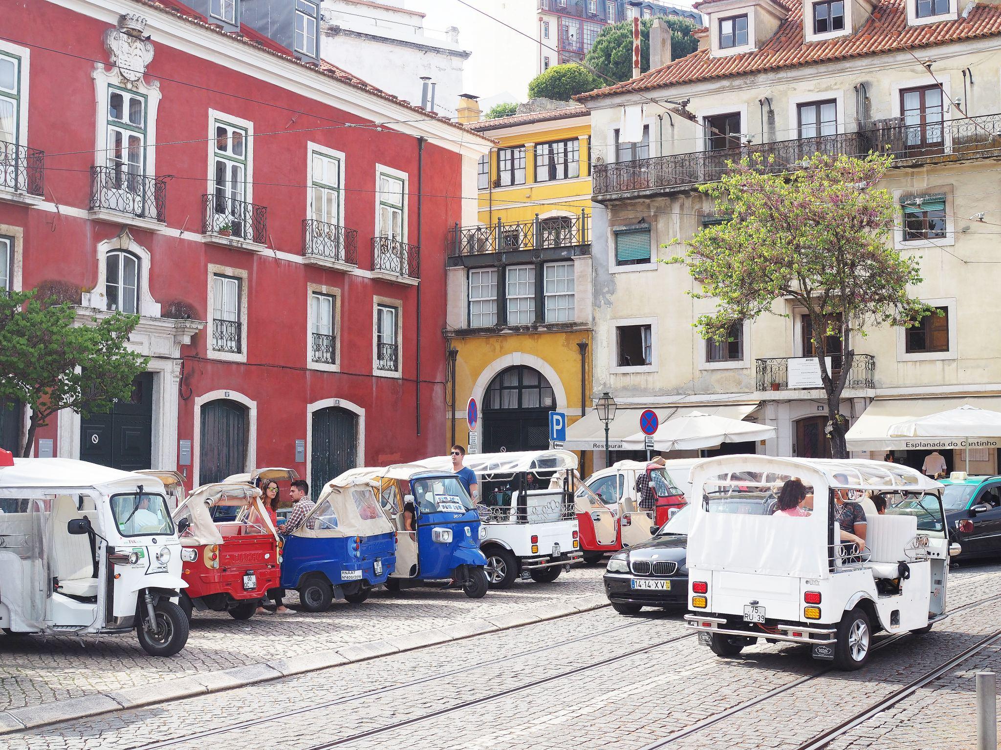 Tuk Tuk, Lisbon