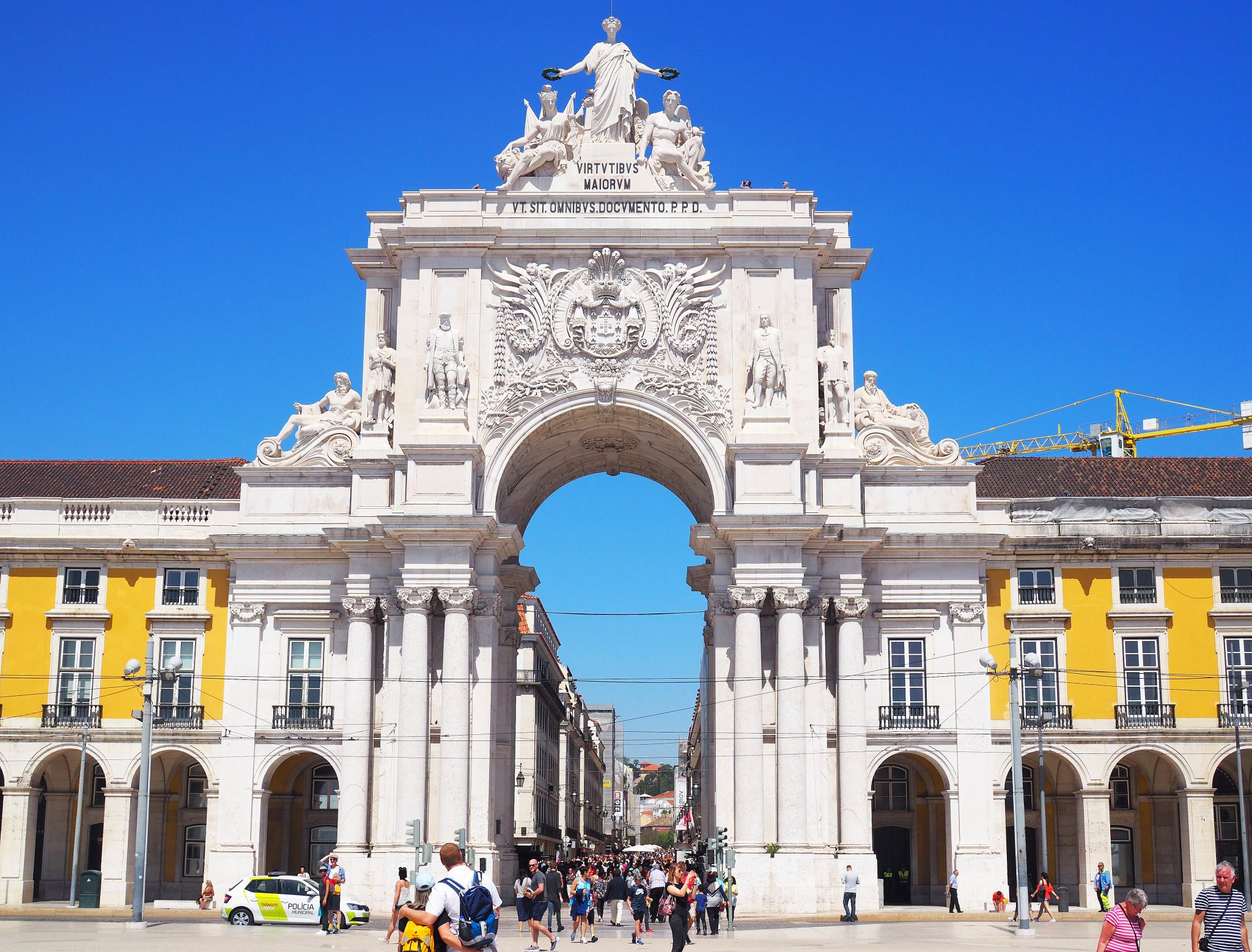 Rua Augusta Arch, Downtown Lisbon