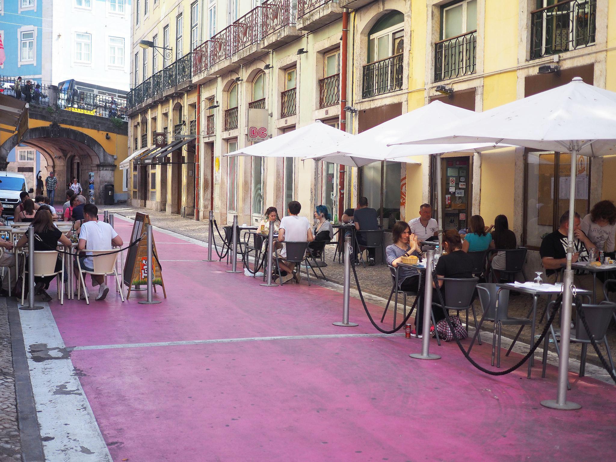 Pink Street, Downtown Lisbon