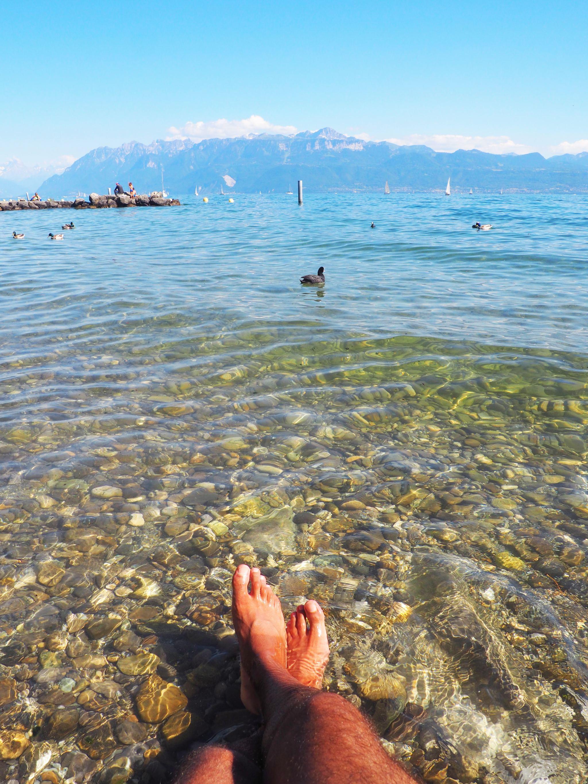 Lake Geneva, Lausanne