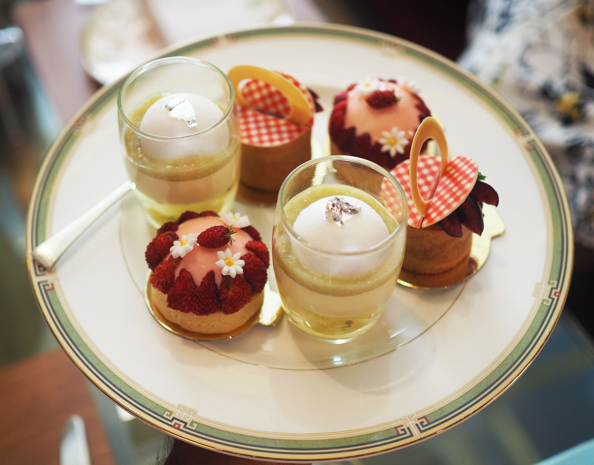Journey Through British Summertime Afternoon Tea, Four Seasons London