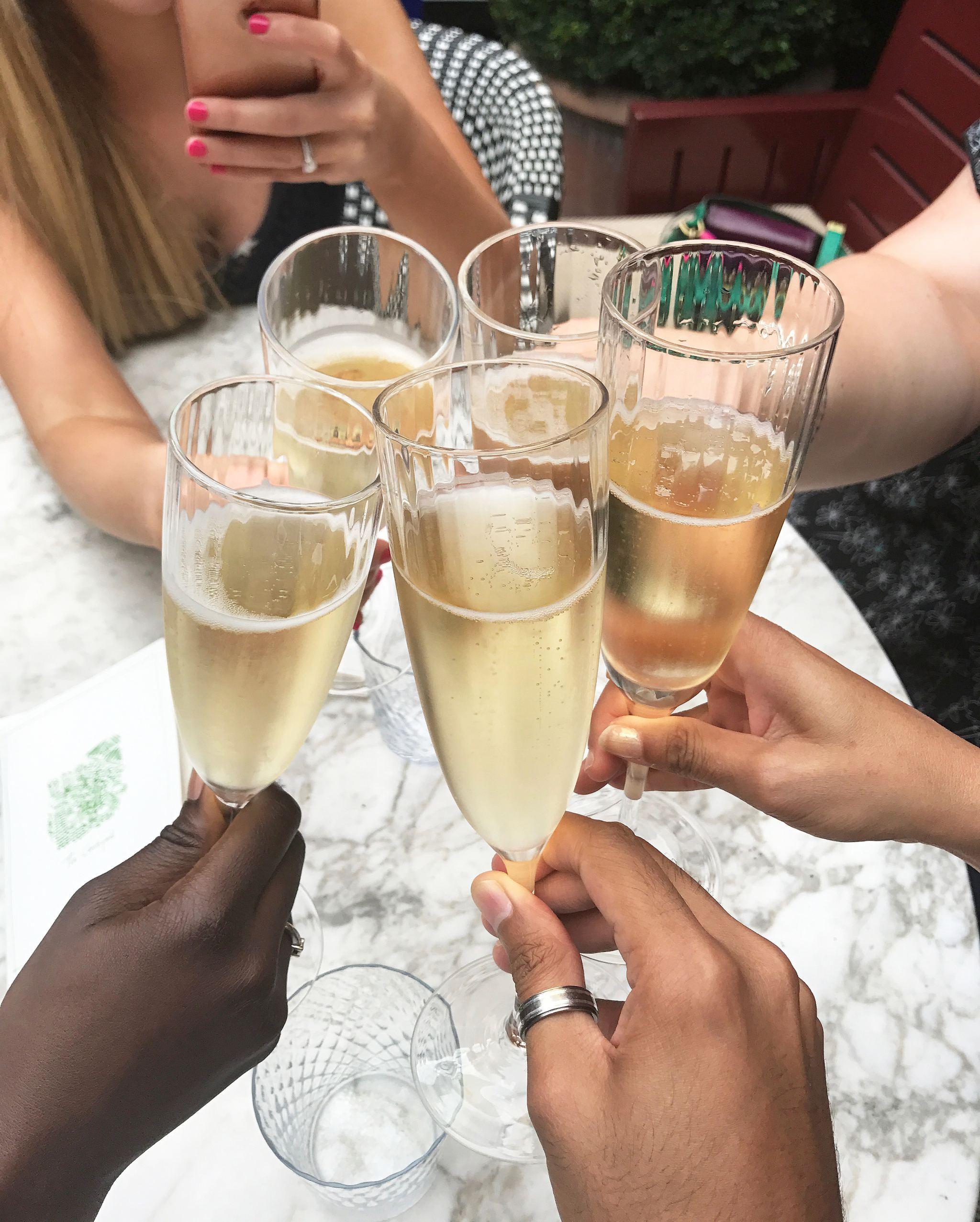 Blogger drinks