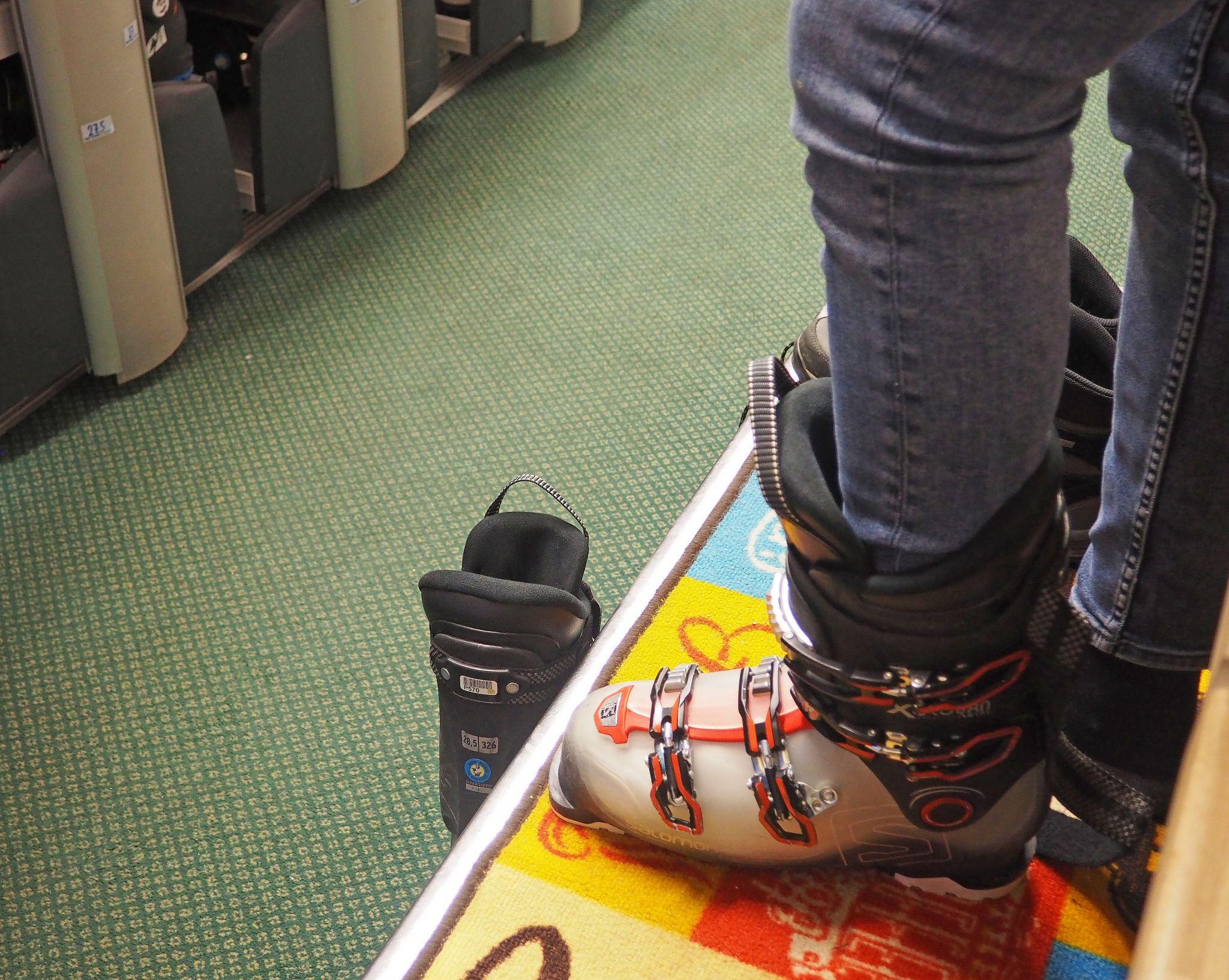 Ski Prep at No Service