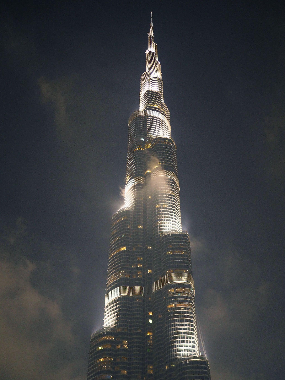 Dubai's Burj Khalifa - Word Tallest Building