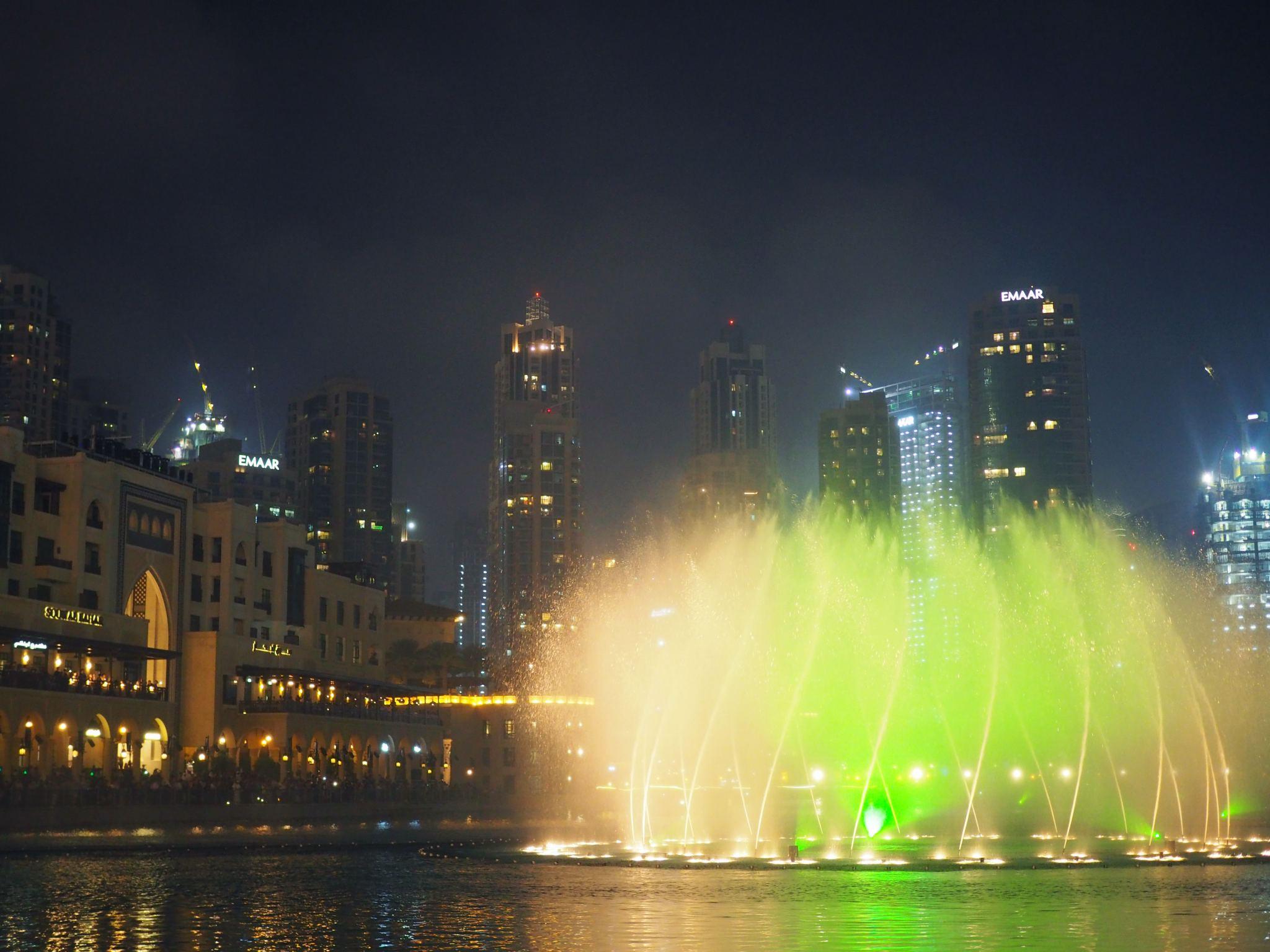 Dubai Fountain Show