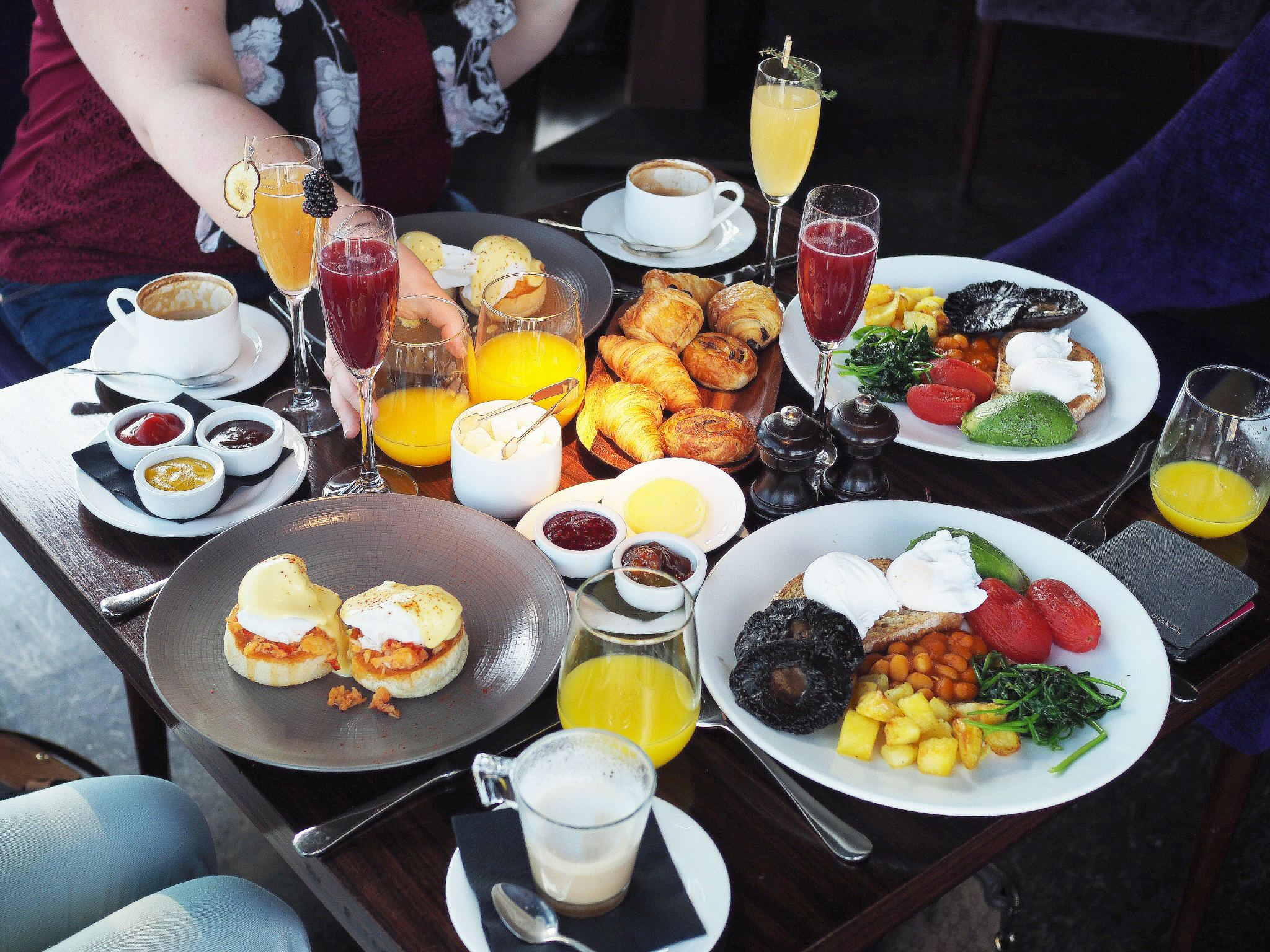 Breakfast Hotspots - Aqua Shard