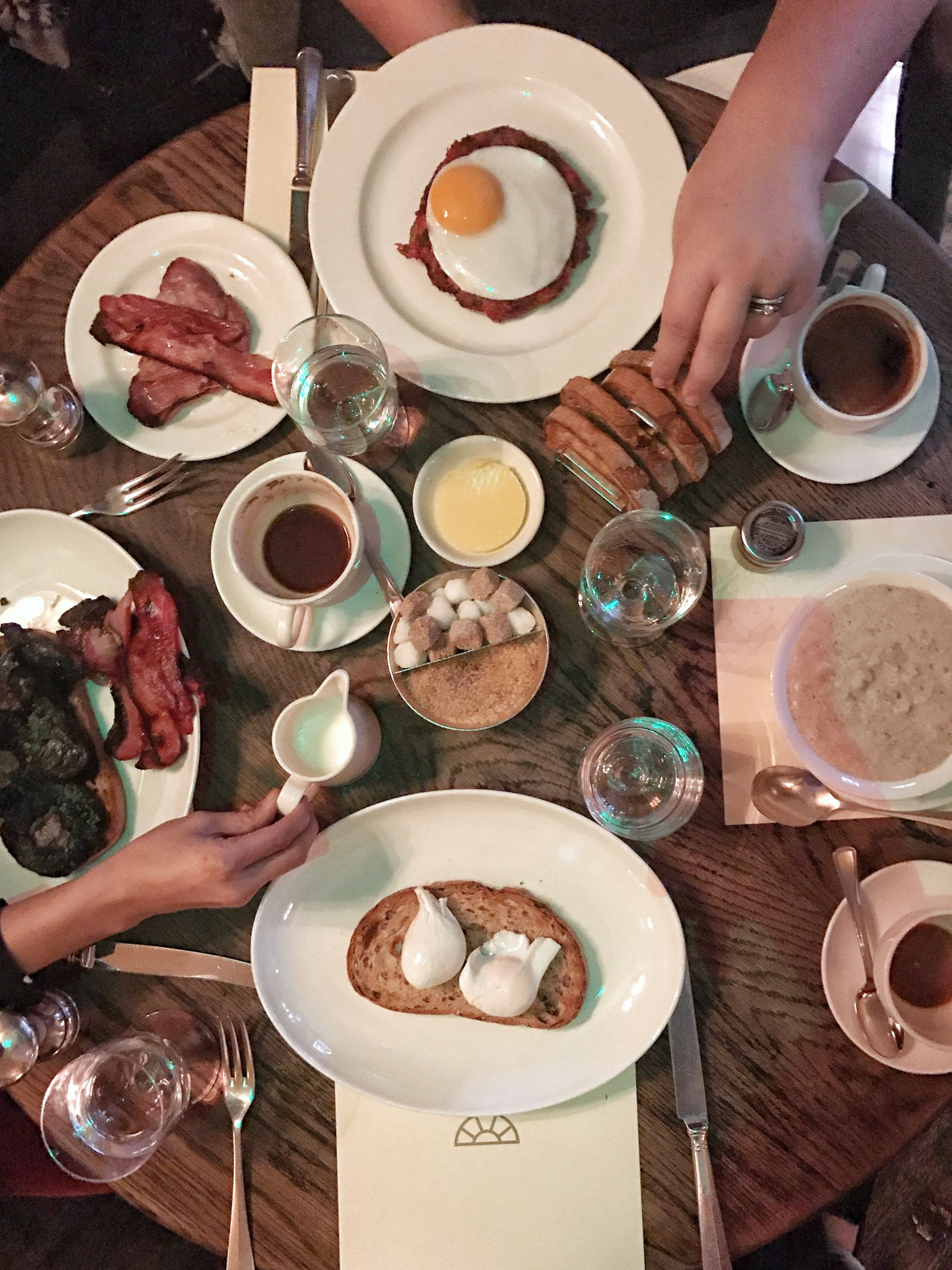 Breakfast Hotspots - Dean Street Townhouse