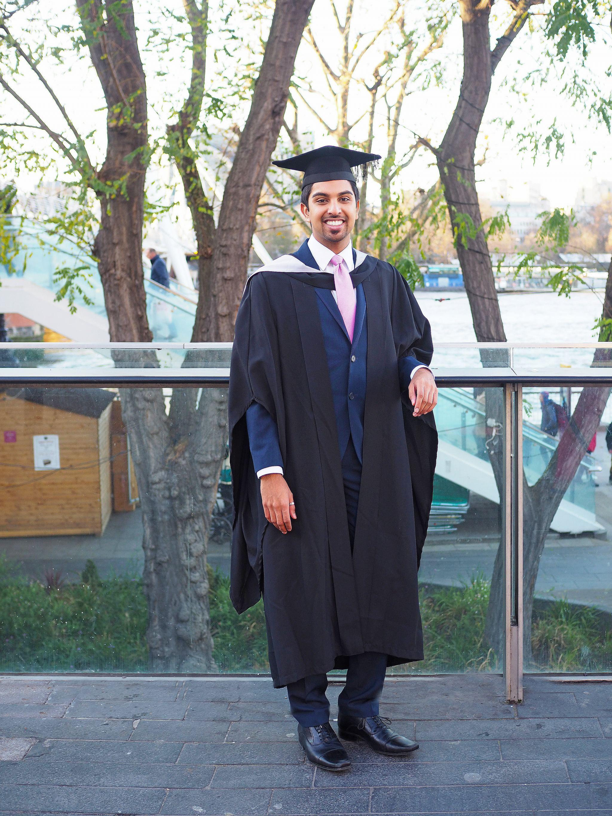 Graduation on London Southbank