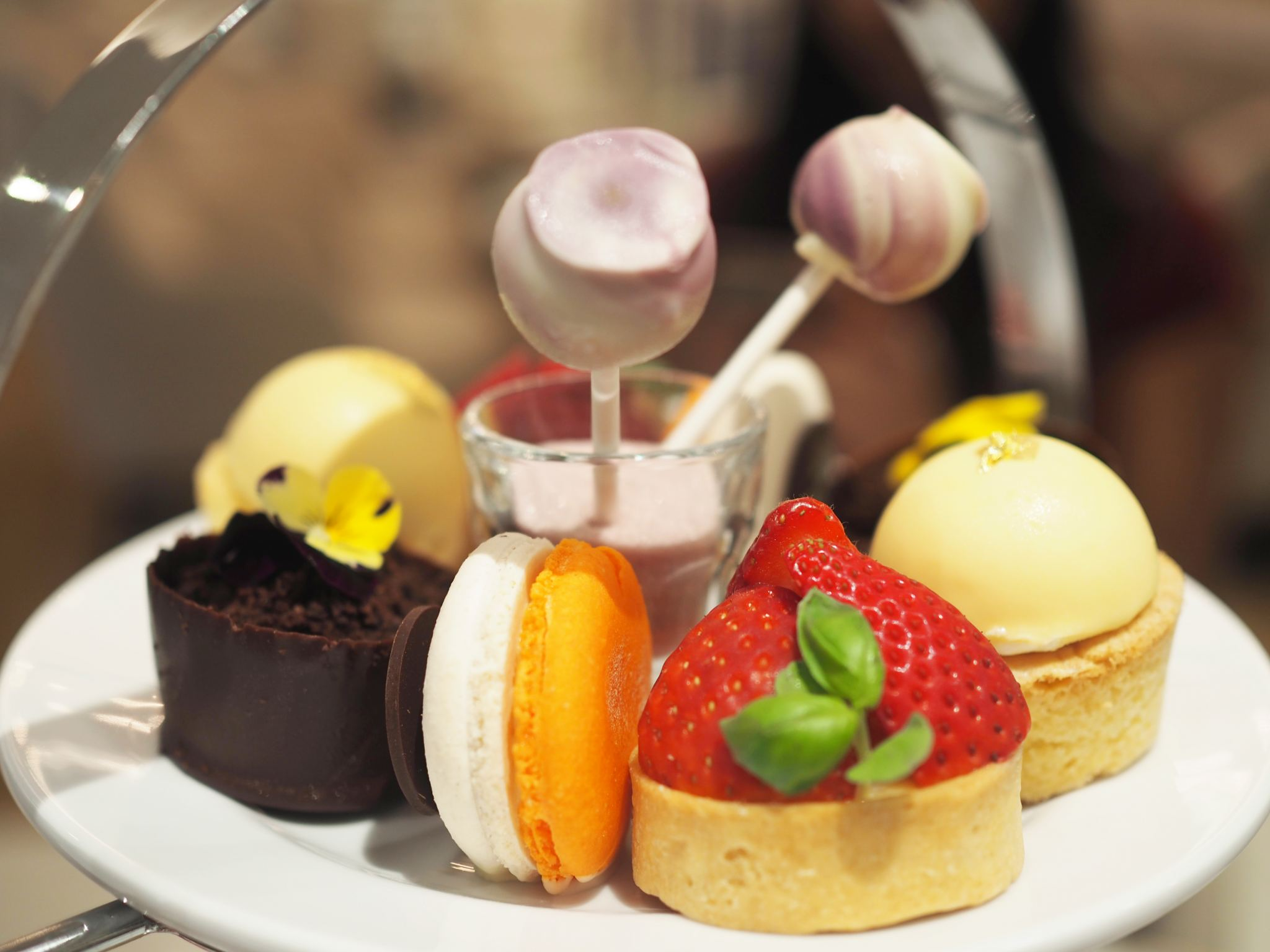 Royal Lancaster Hotel Afternoon Tea
