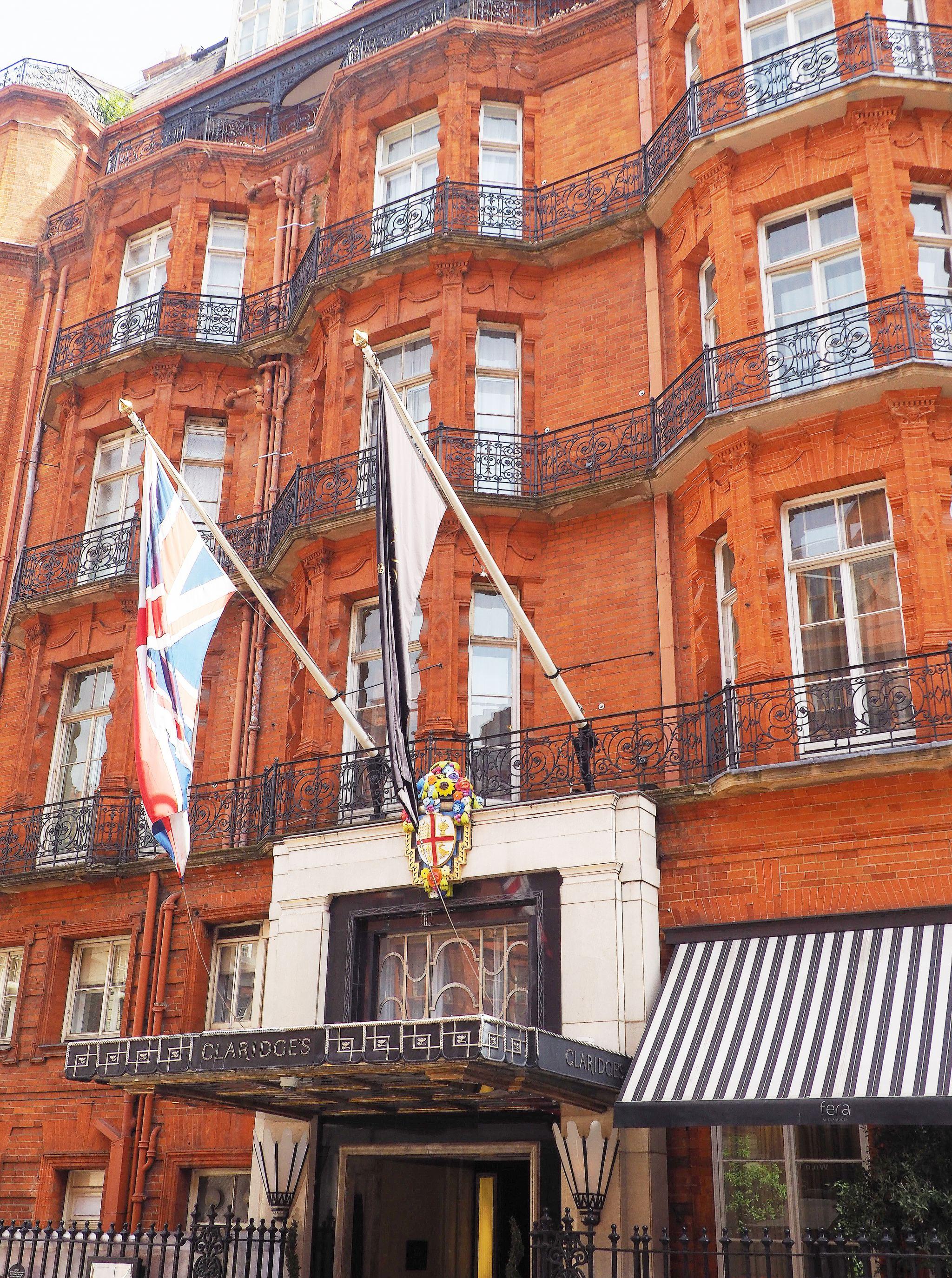 Mayfair: Claridge's Luxury Hotel