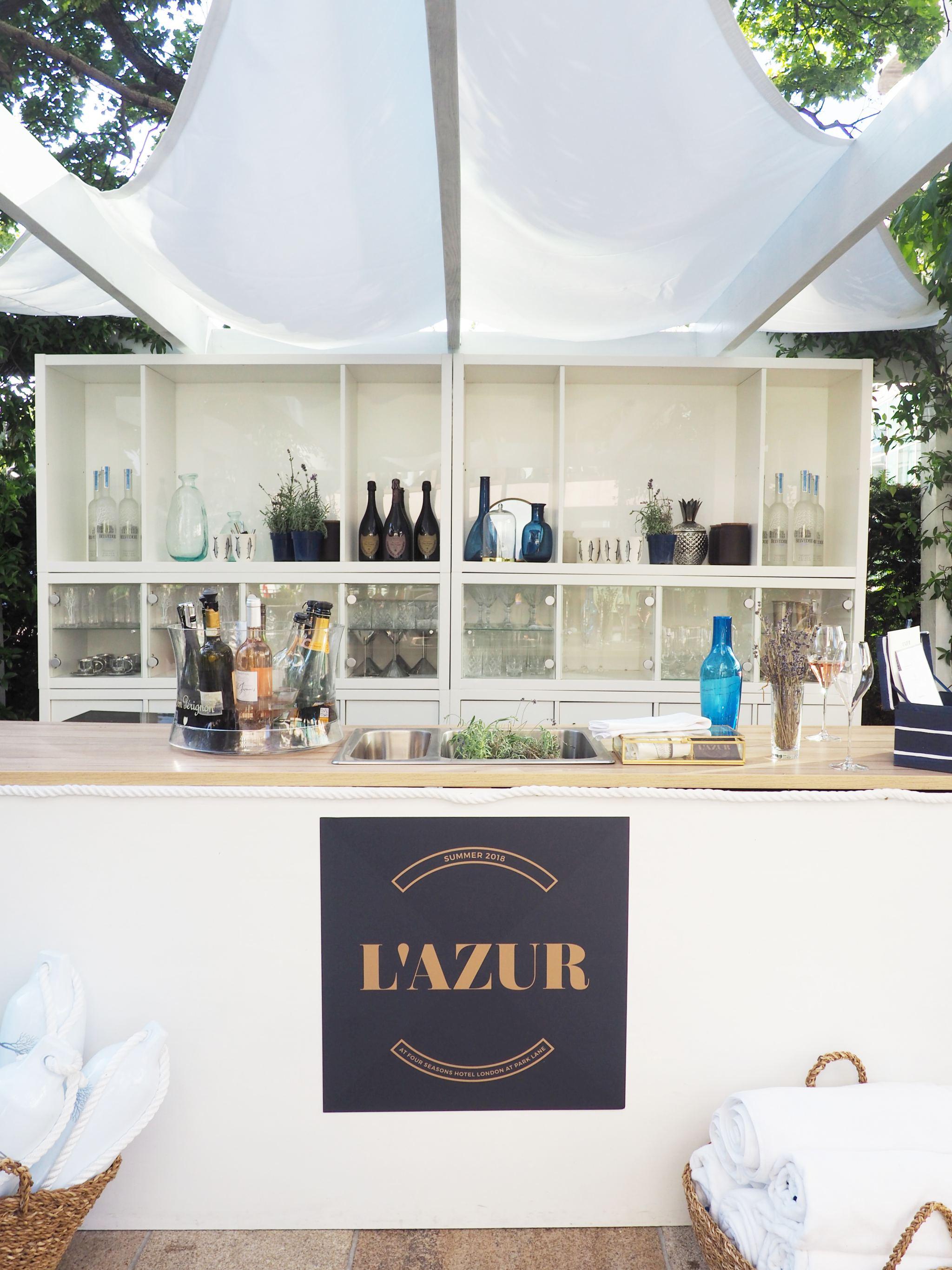 L'Azur, Four Seasons Park Lane