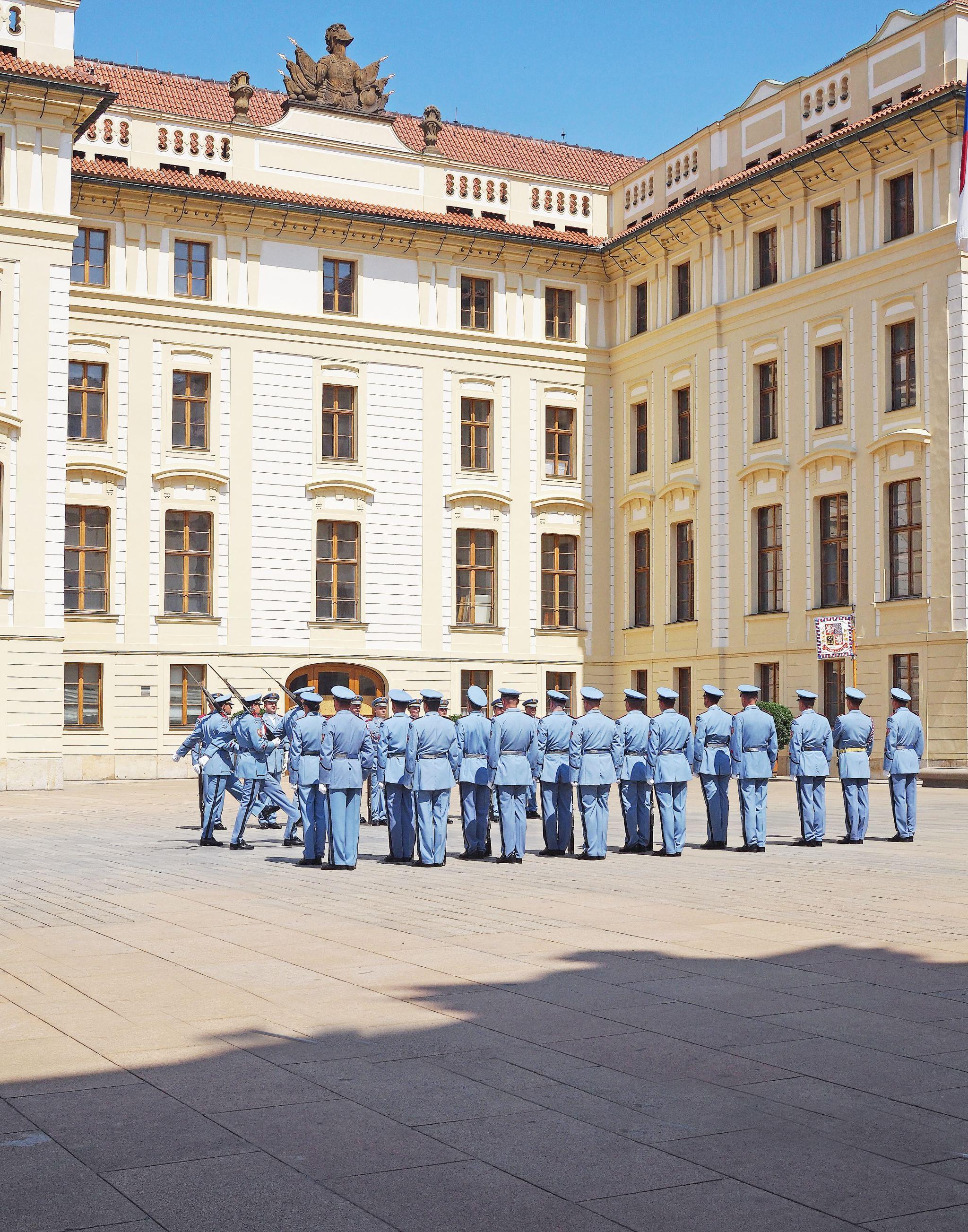 Guard Change Prague