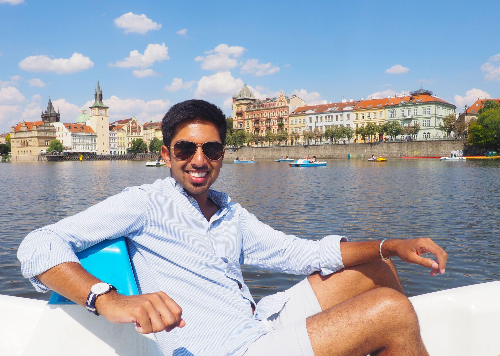 Peddle Boat Prague