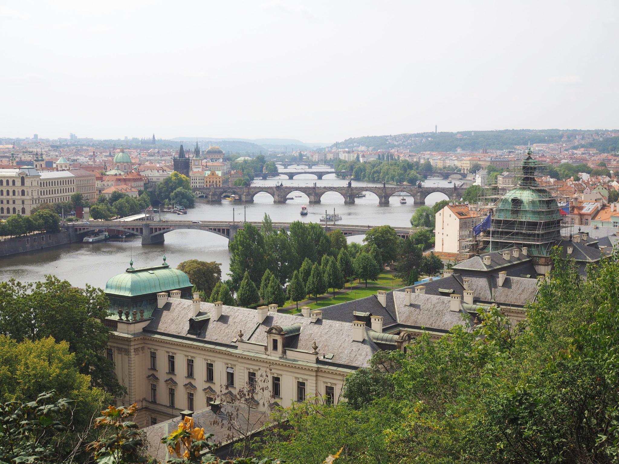 Viewpoint: Hanavsky Pavilion