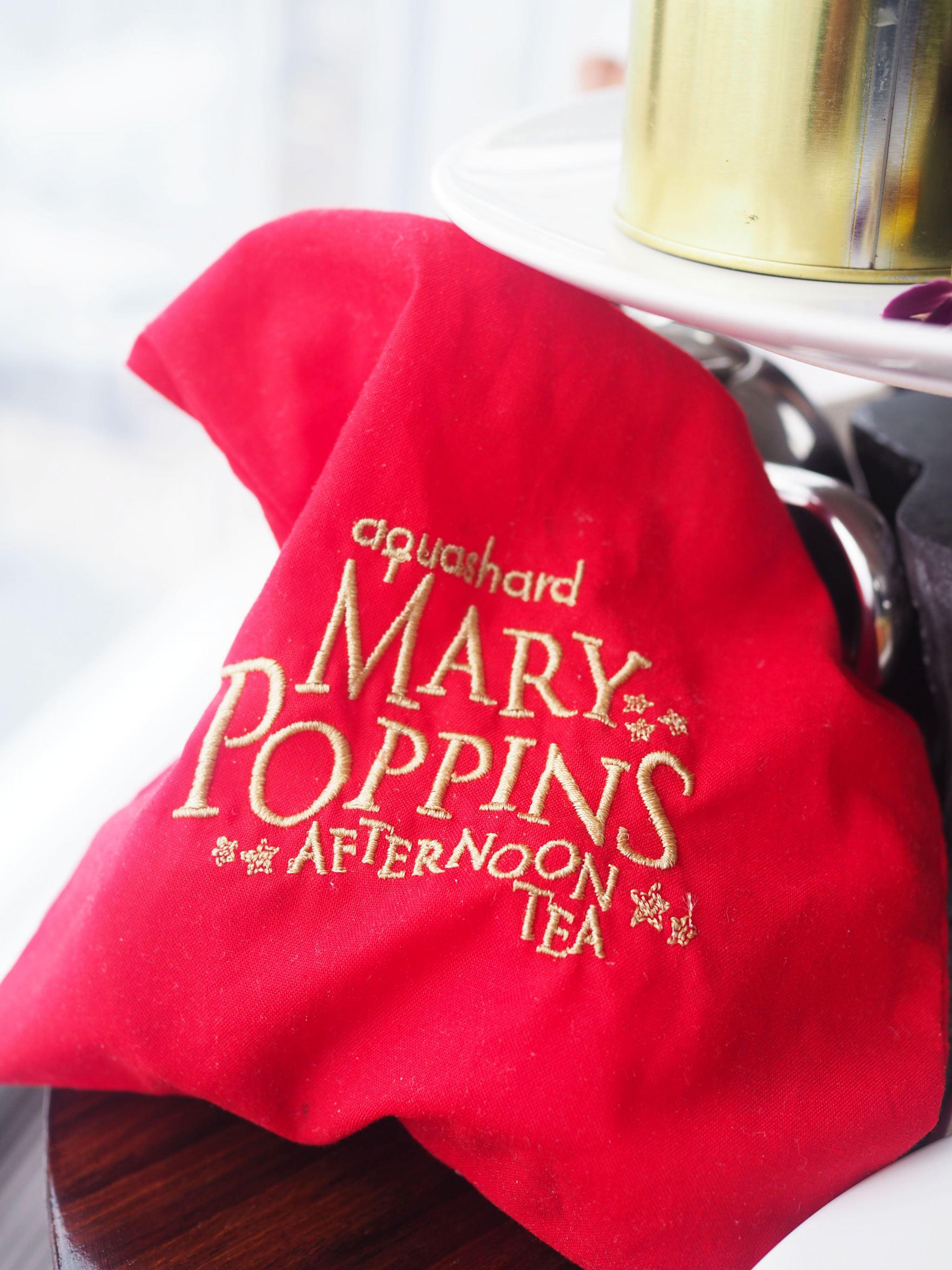 Mary Poppins Afternoon Tea - Aqua Shard