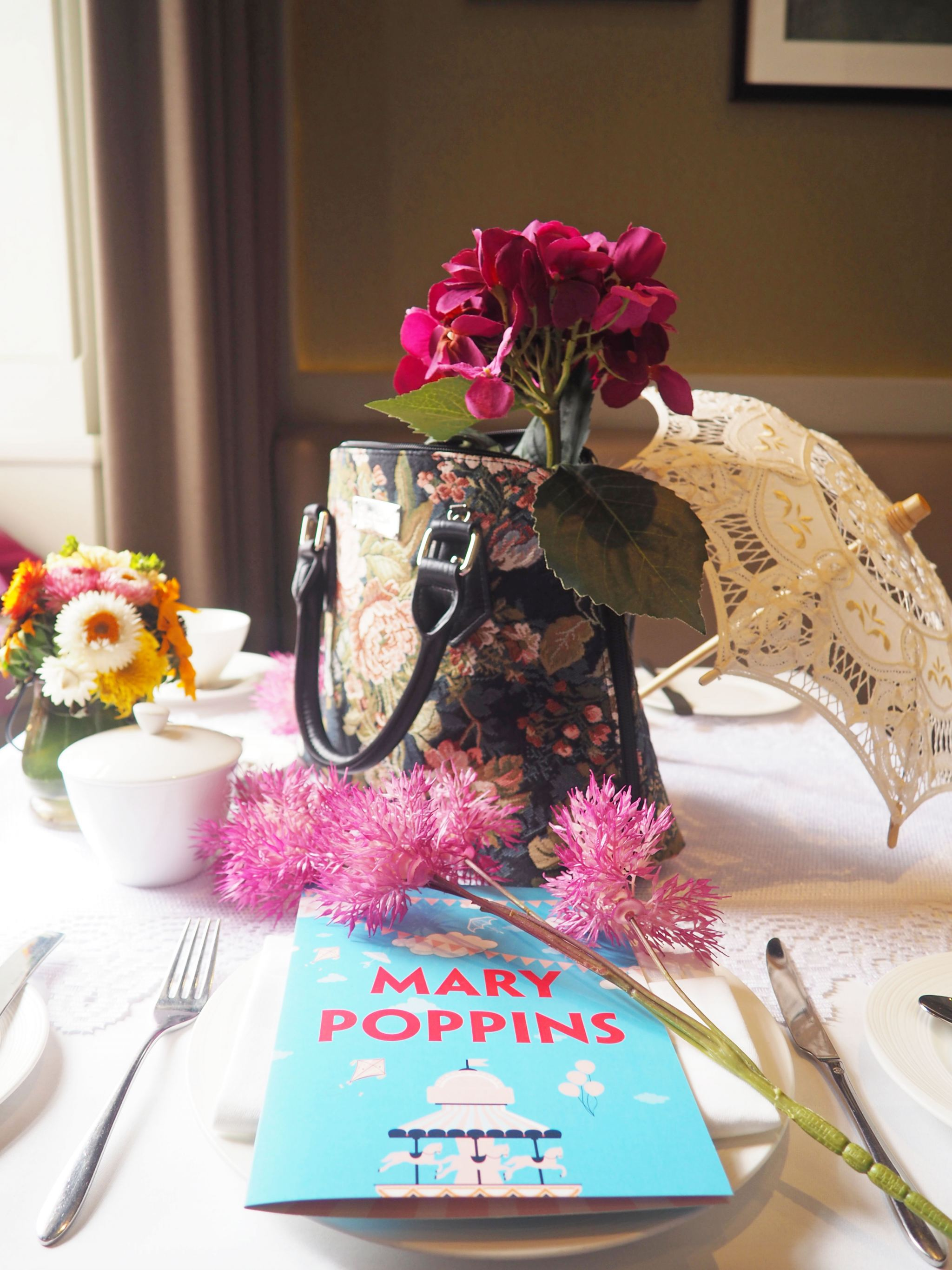 Mary Poppins Afternoon Tea, Taj 51 Buckingham Gate