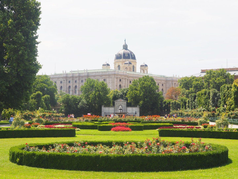 Volksgarten & Hofburg Palace, Vienna