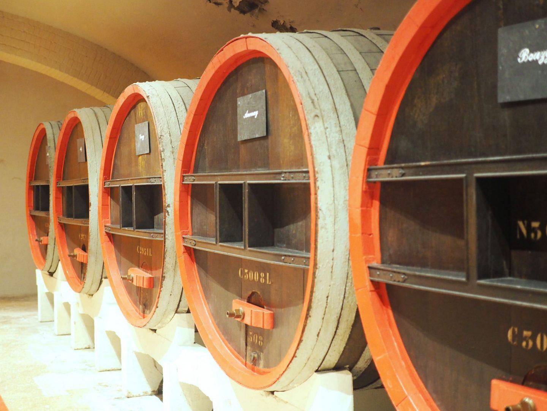 Champagne Fermentation - Oak Barrels