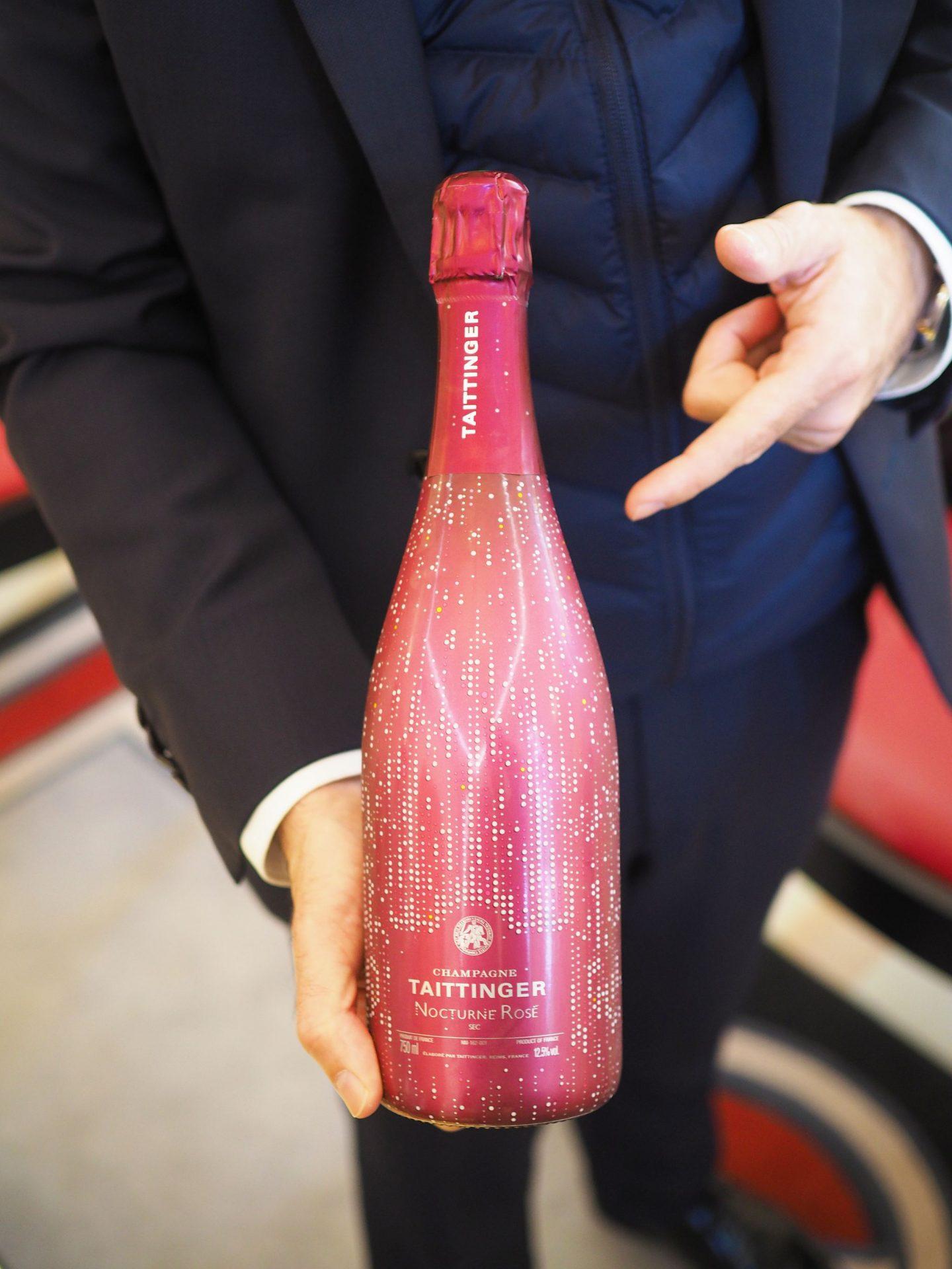 Champagne Taittinger Rosé Sec