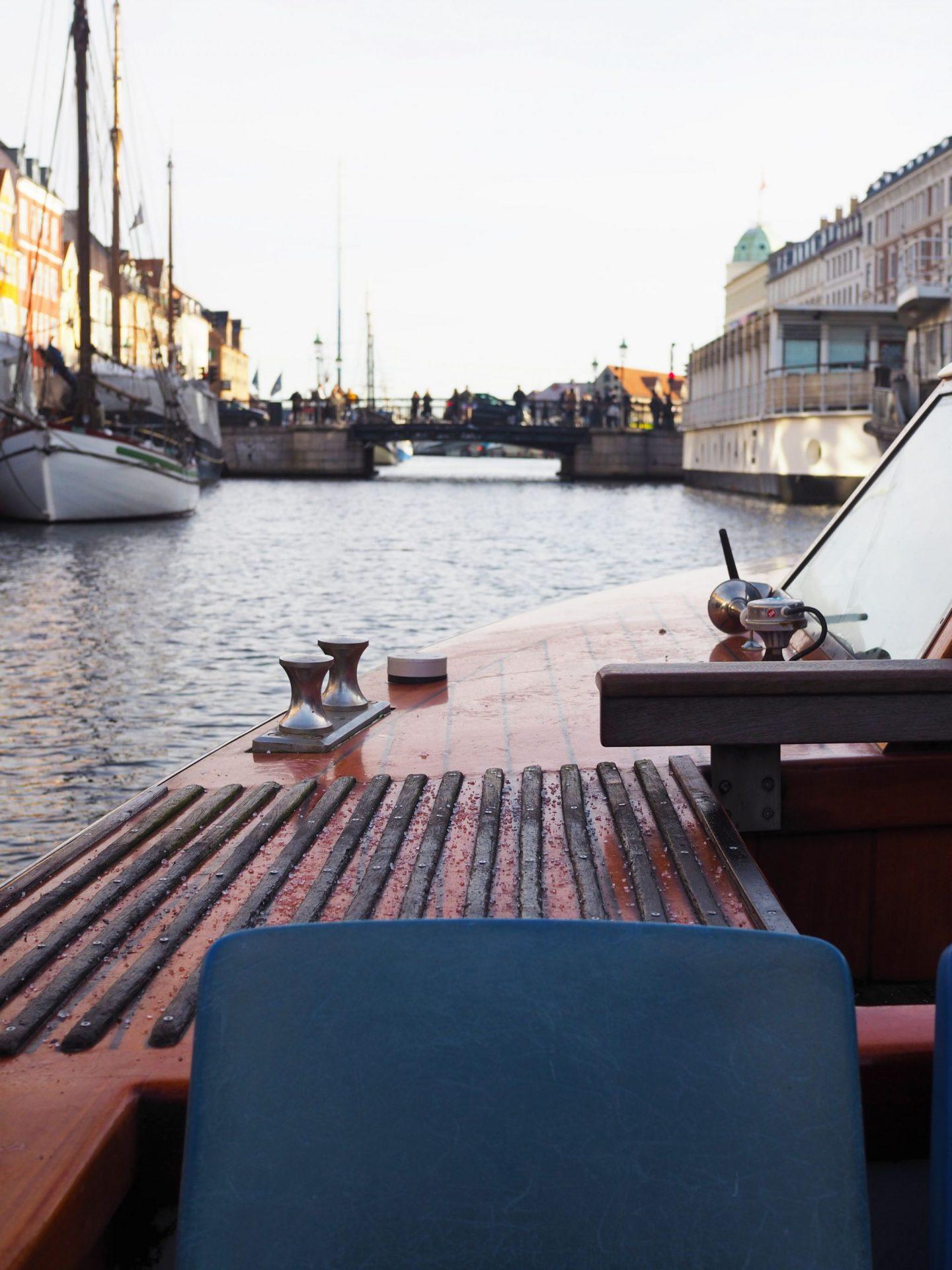 Canal Boat Ride, Copenhagen