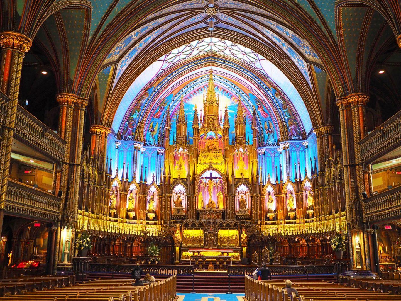 Notre-Dame Basilica inside