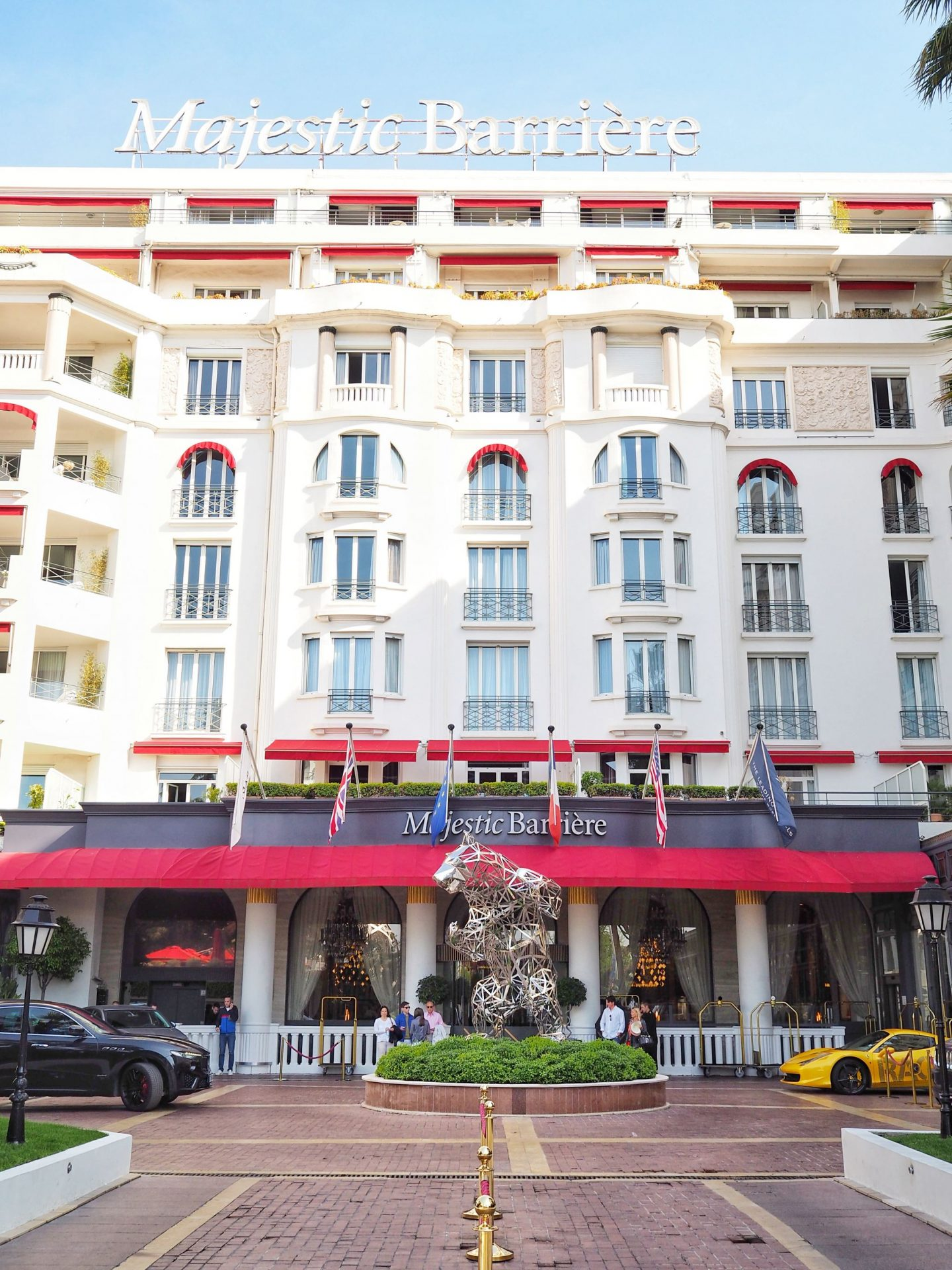 Hotel Barrière Le Majestic Cannes Hotel Front