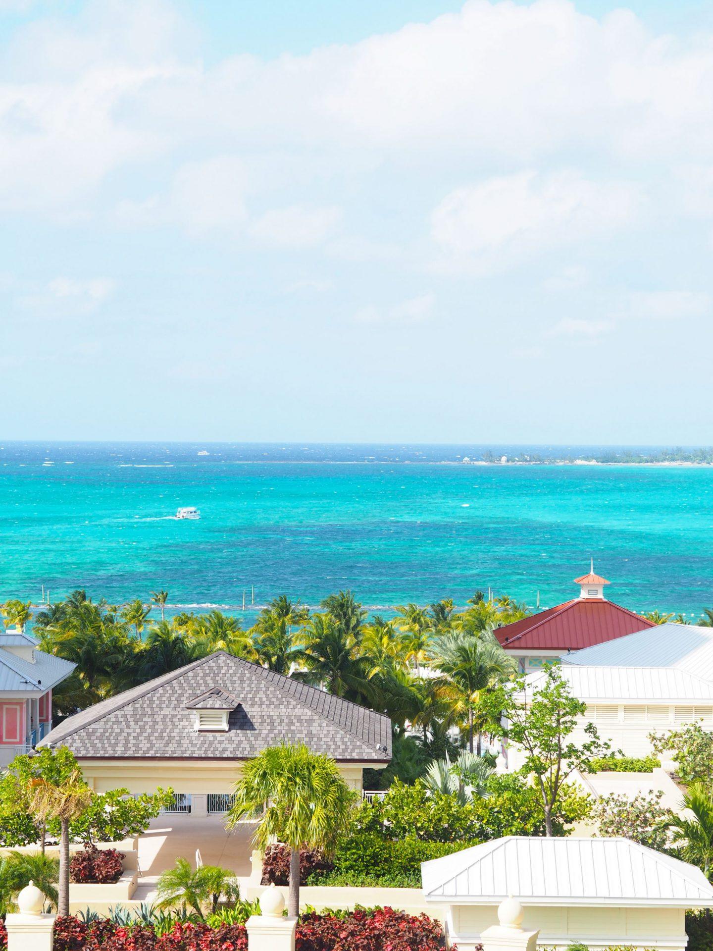 View from Grand Hyatt, Baha Mar, Bahamas
