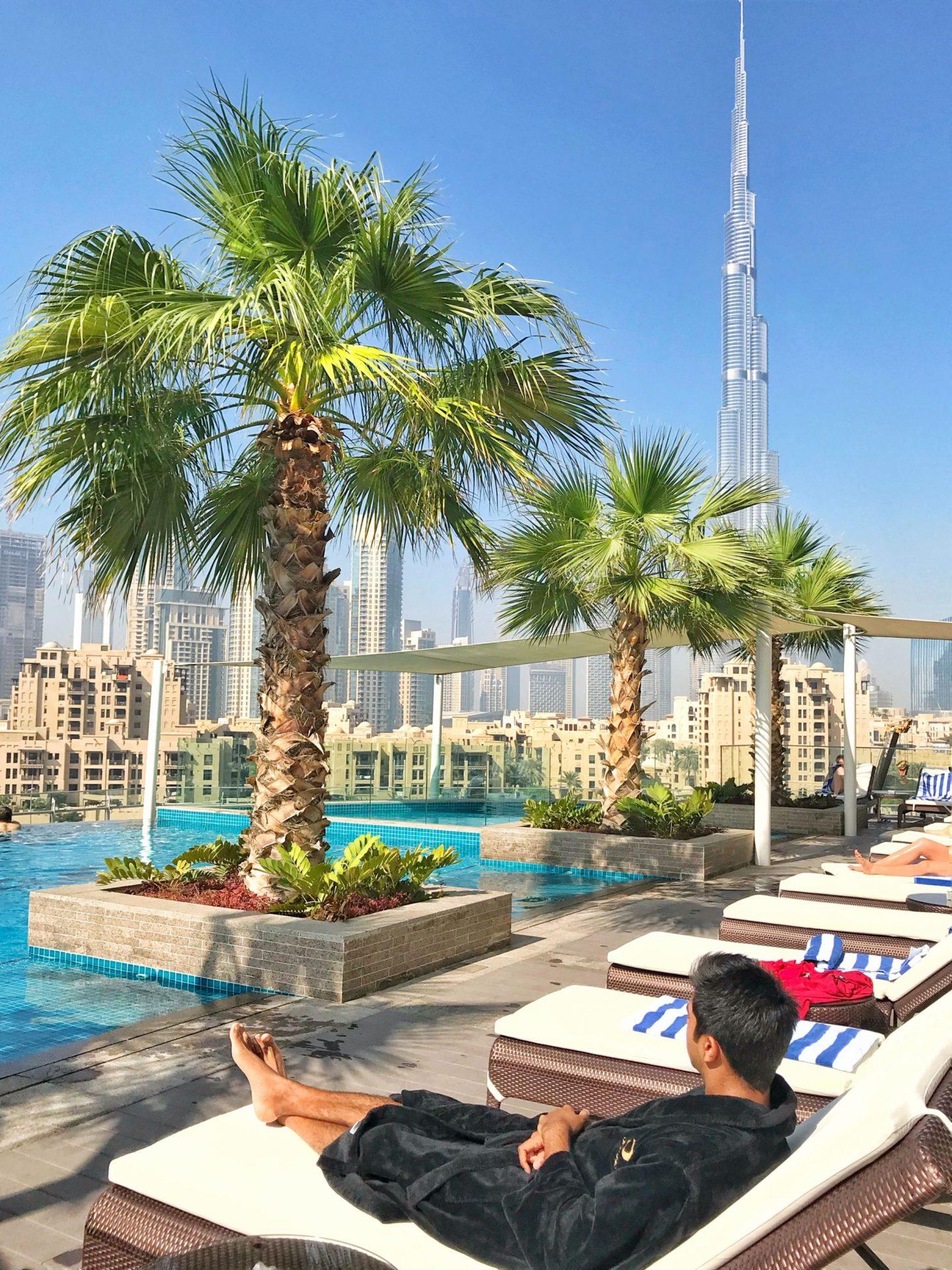 Disconnecting in Dubai