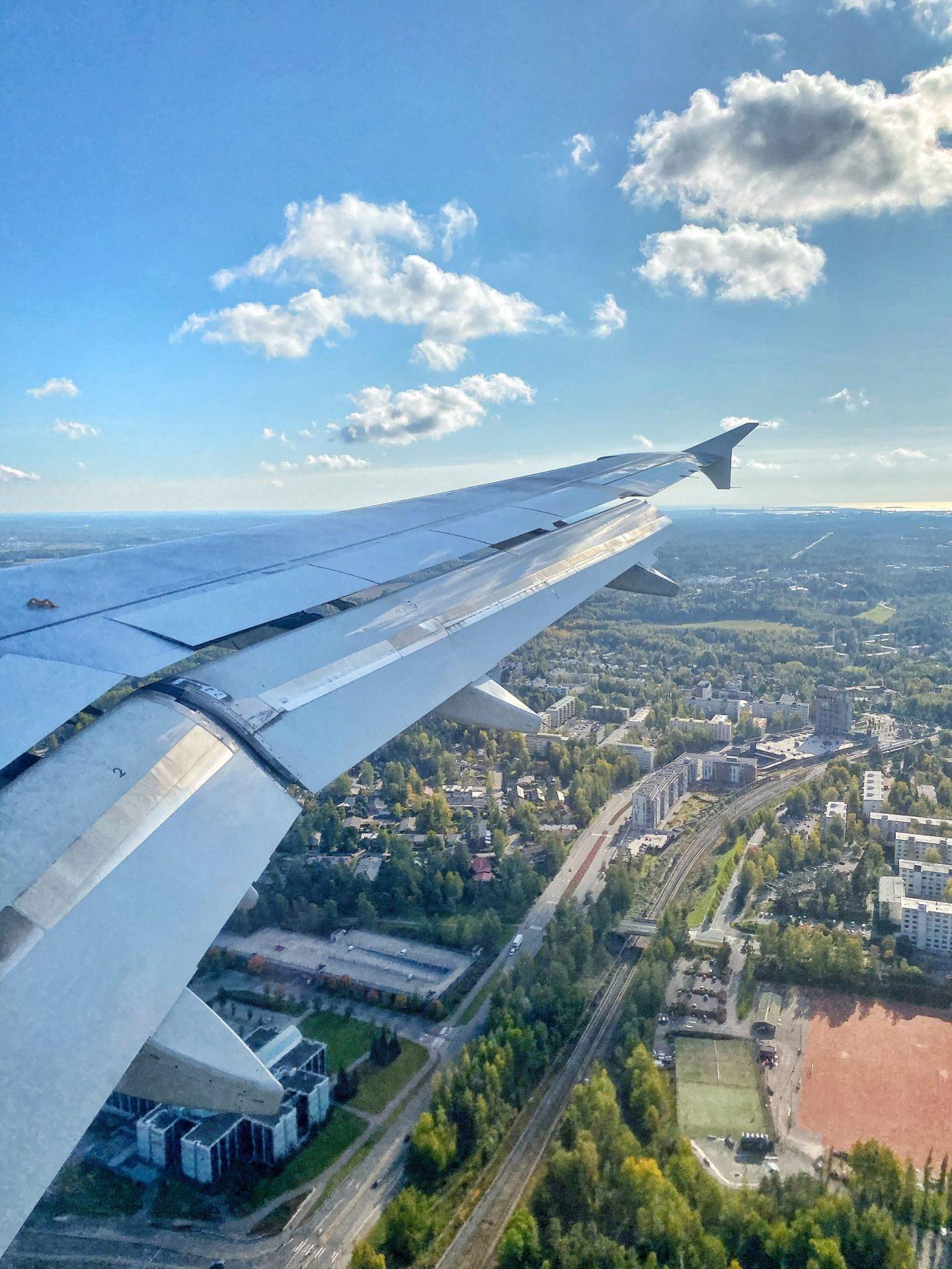 Landing in Helsinki