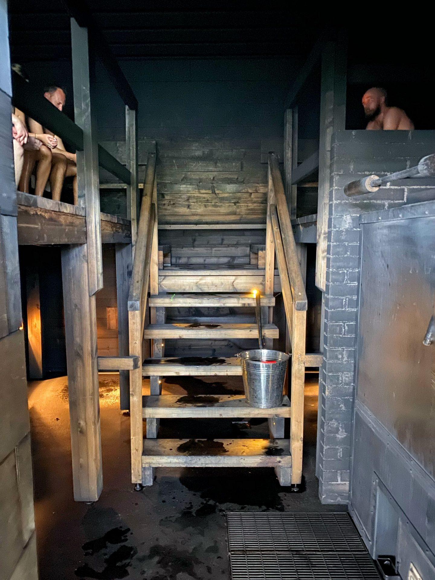 Charcoal sauna, Loyly, Helsinki