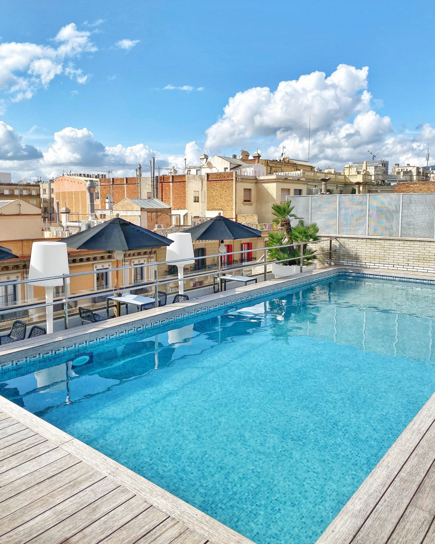 Hotel Claris rooftop pool