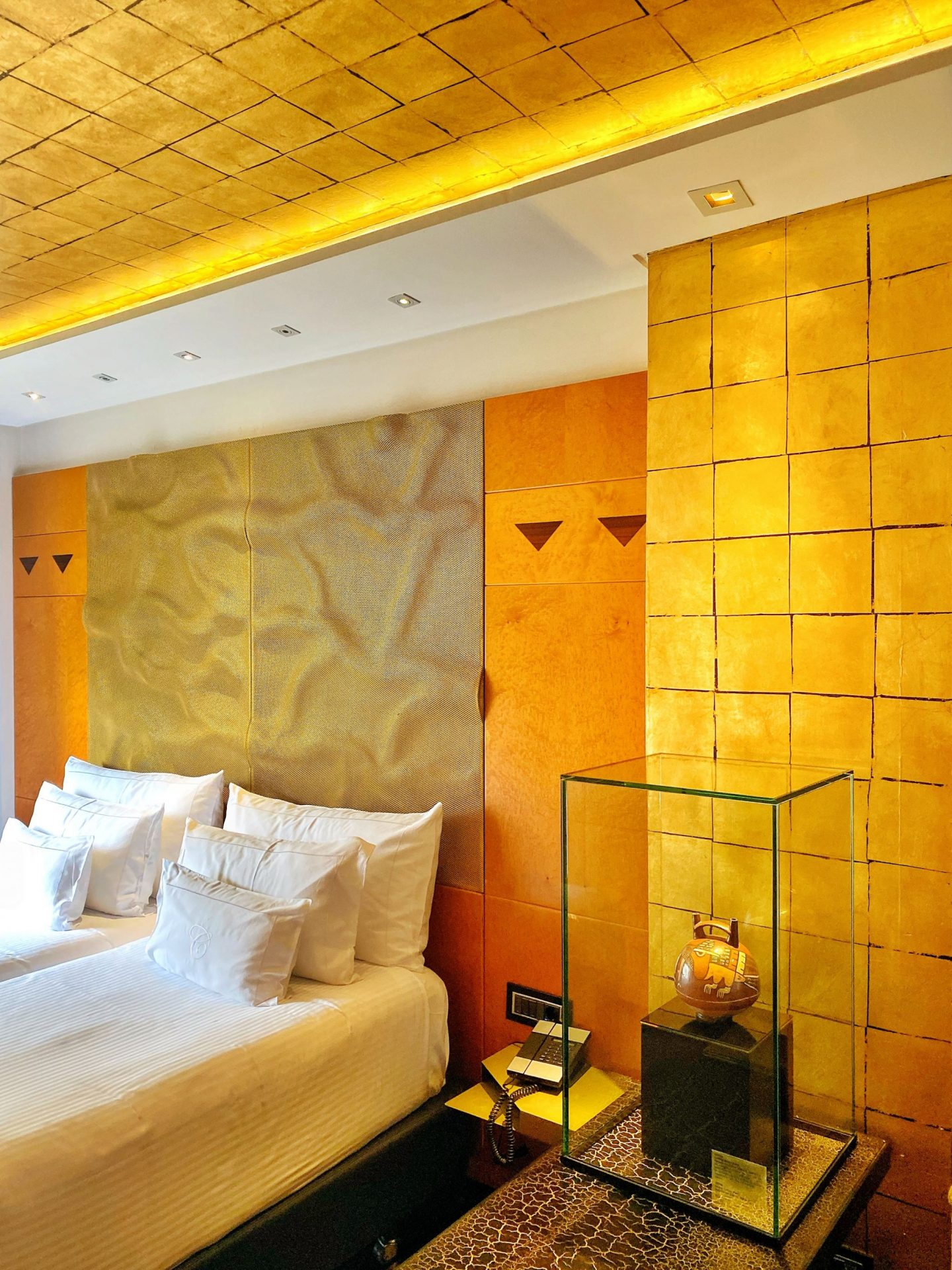 Bedrooms at Hotel Claris