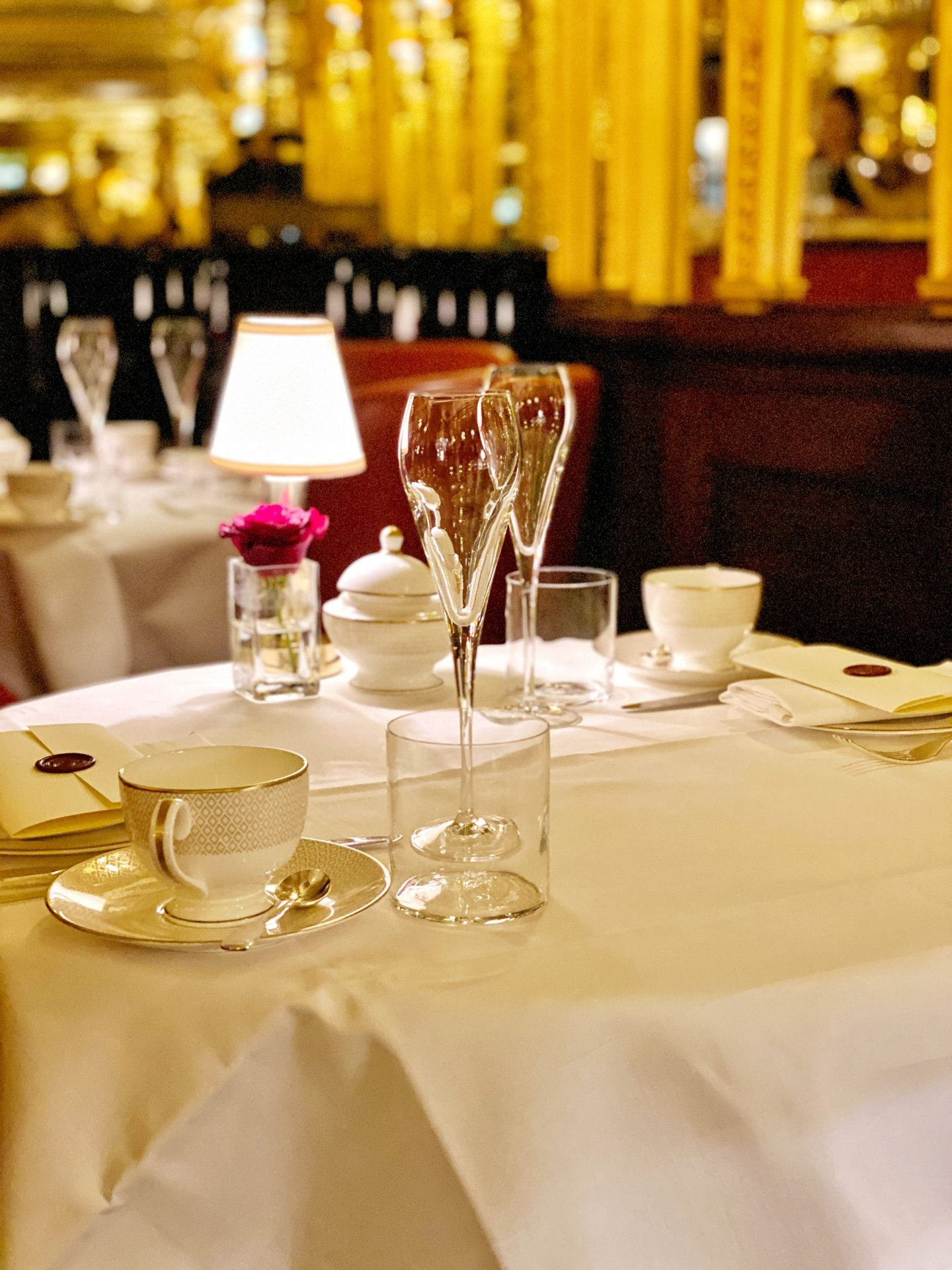 Hotel Cafe Royal Afternoon Tea