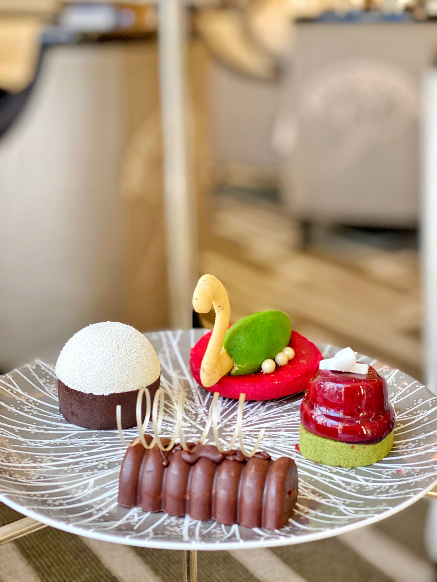 InterContinental Park Lane Festive Afternoon Tea - Sweet treats
