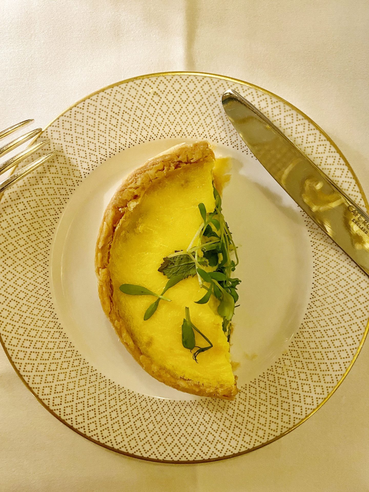 Cheese Quiche - Hotel Cafe Royal