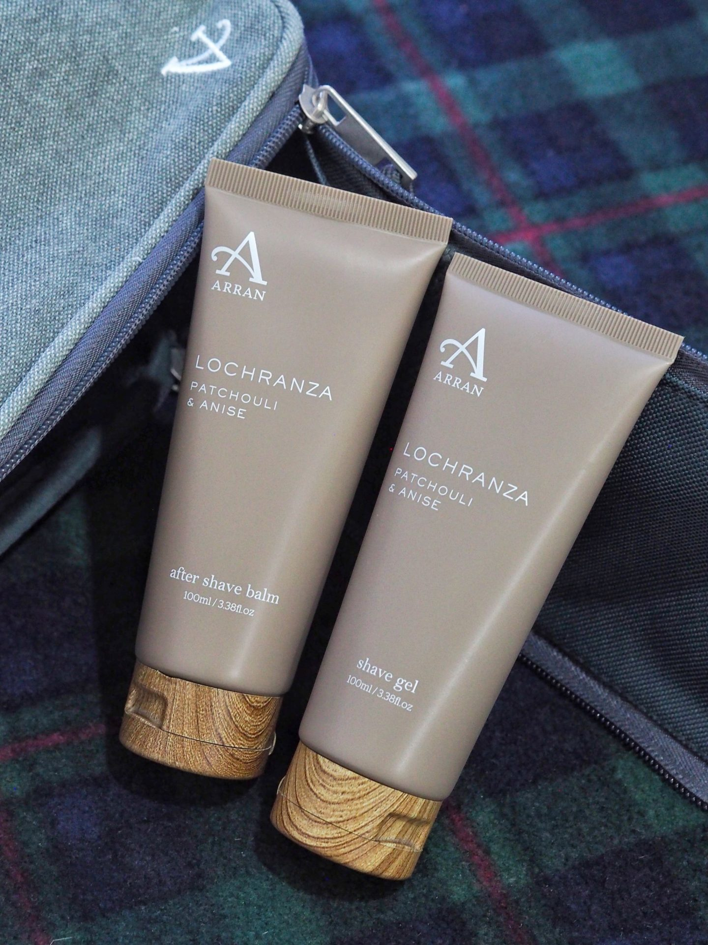 Lochranza Shave Gel and Shave Balm