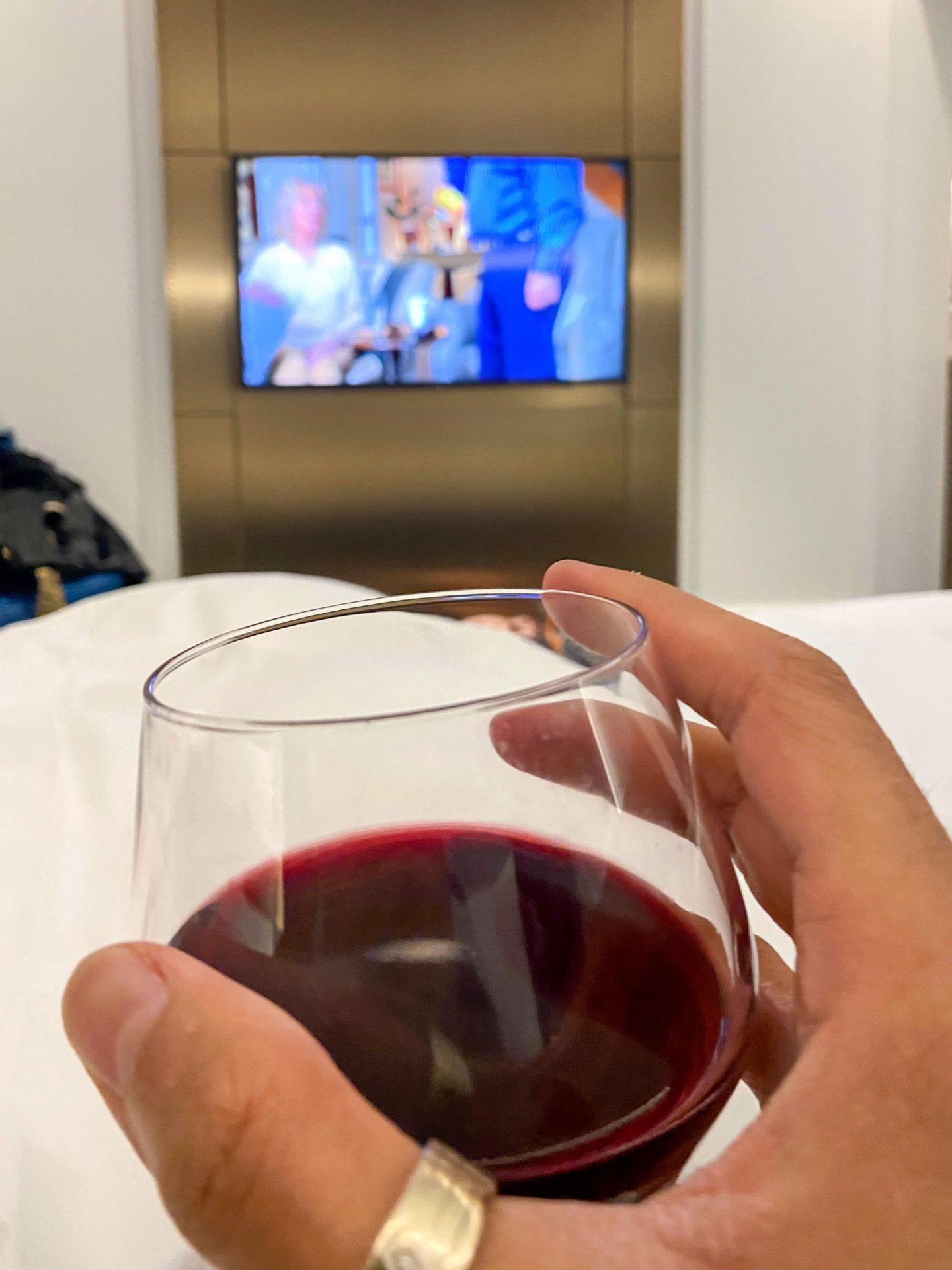 Wine in room
