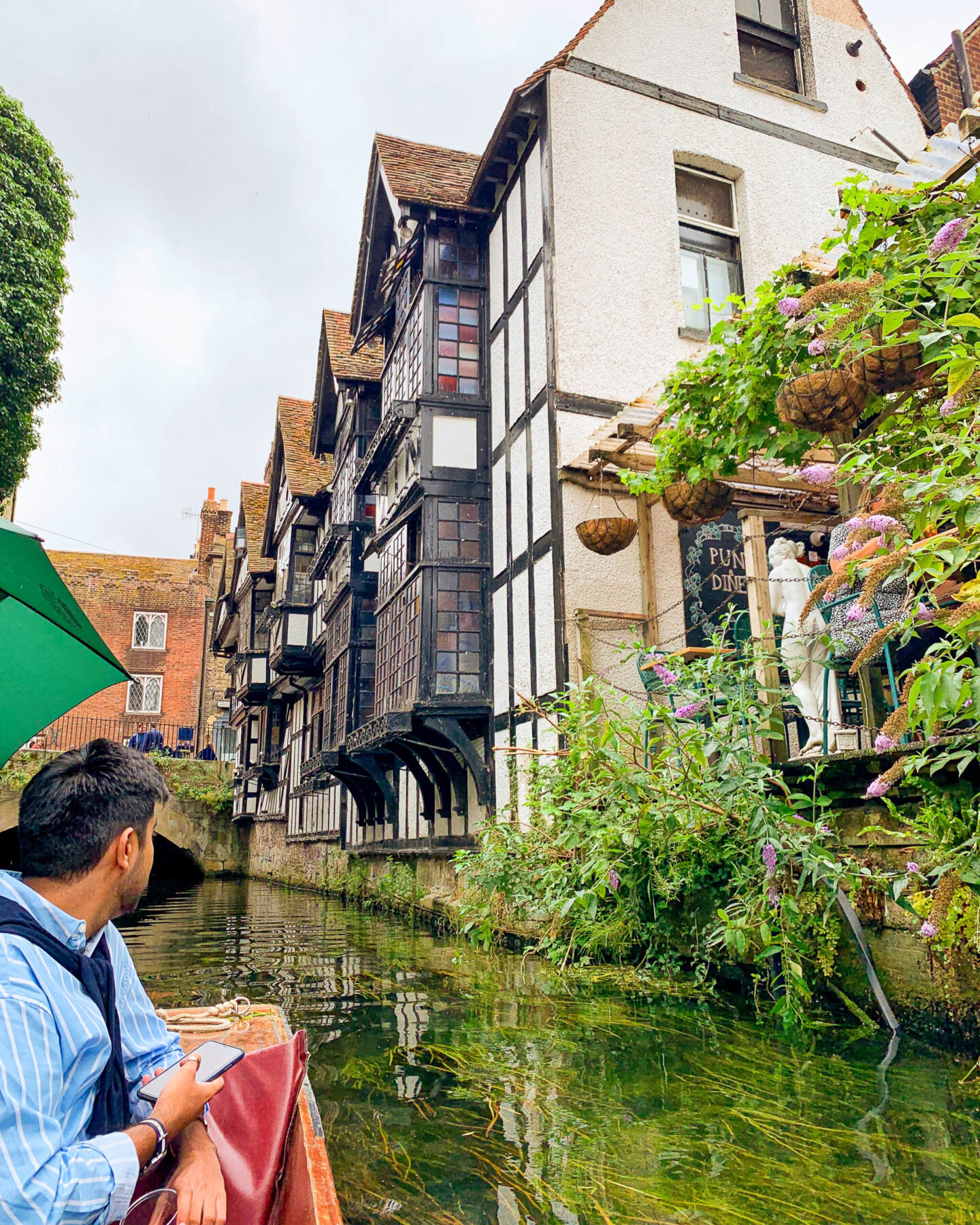 Punting in Canterbury