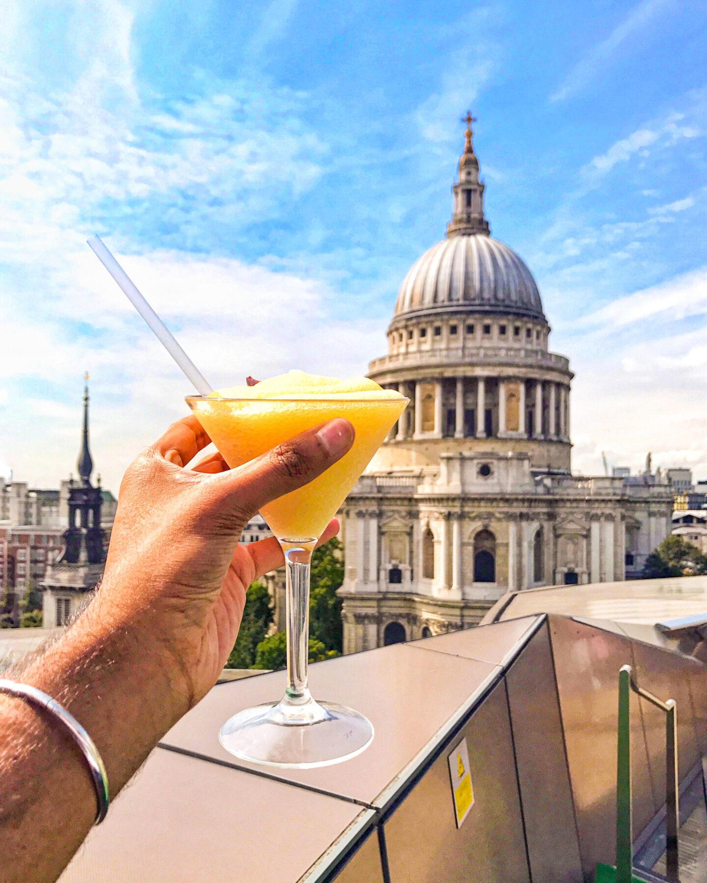 Madison Rooftop Bar, St. Paul's, London