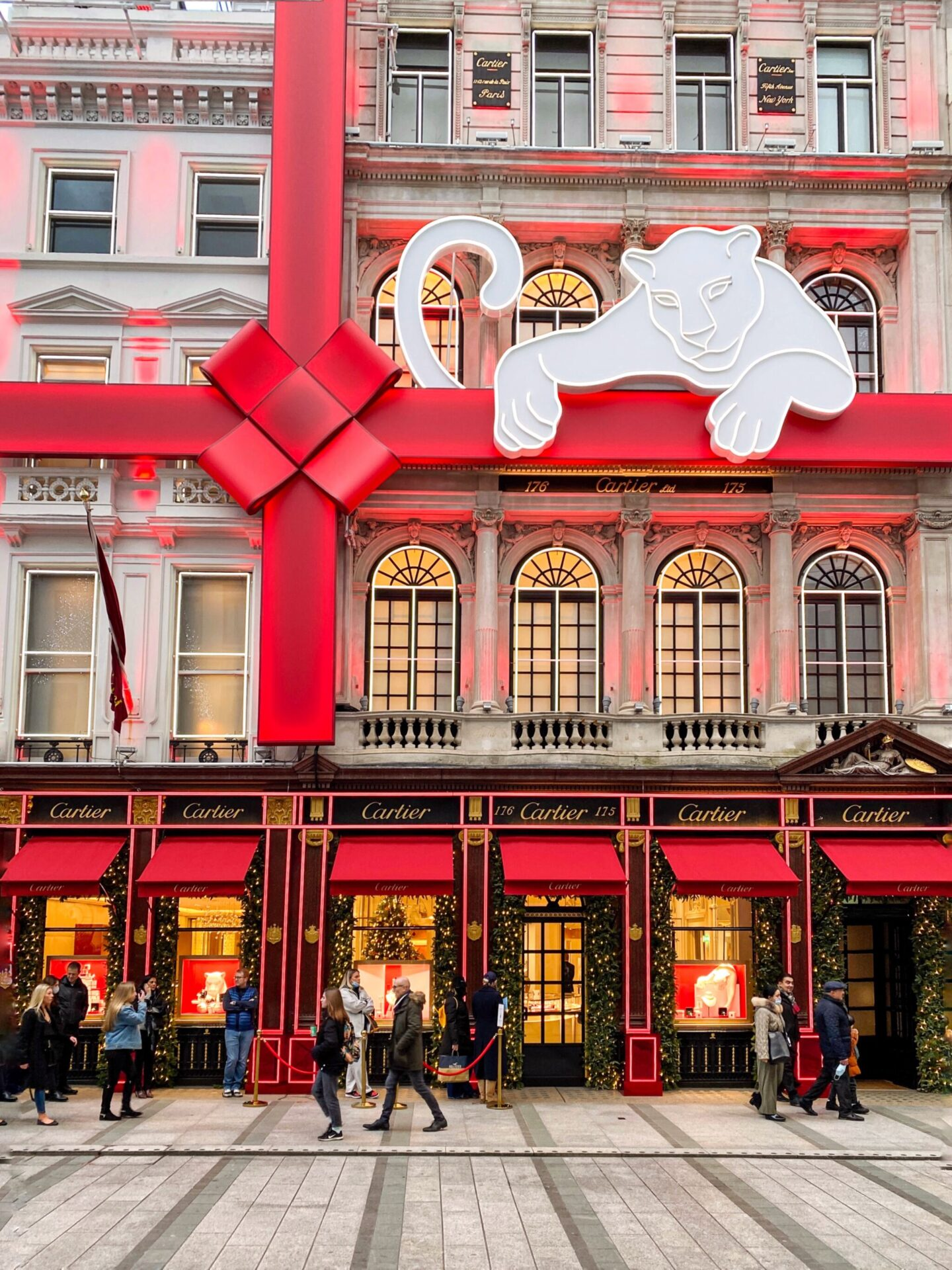 Cartier in Christmas, Old Bond Street